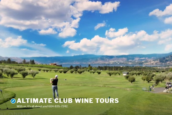 Harvest Golf Club Kelowna with Altimate