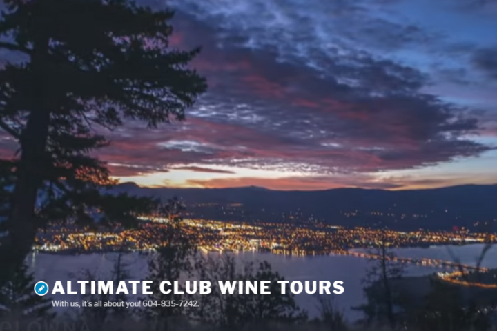 Kelowna night lights with Altimate